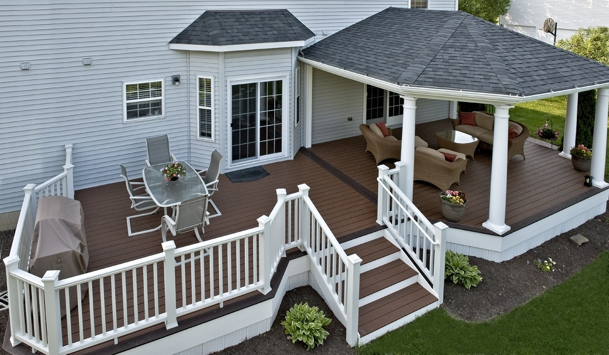 Roof Design Ideas: Decks With Roofs & Covered Deck Builder- Amazing Decks