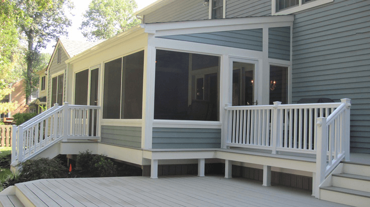 Screened In Deck Ideas Builders Amazing