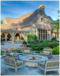 Outdoor Patio Firepit- Outdoor Firepit Designs- Amazing Deck