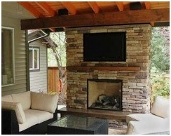Outdoor Deck Fireplaces- Local Deck Builders- Amazing Decks