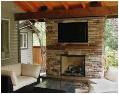 Outdoor Deck Fireplaces- Local Deck Builders- Amazing Decks