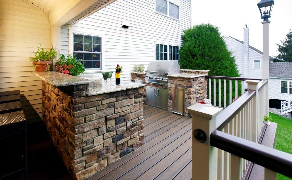On Style Today 2020 11 20 Countertop Outdoor Kitchen Ideas On A Deck Here