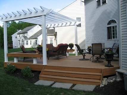 Finishing Touches That Make Pergola Designs For Decks One
