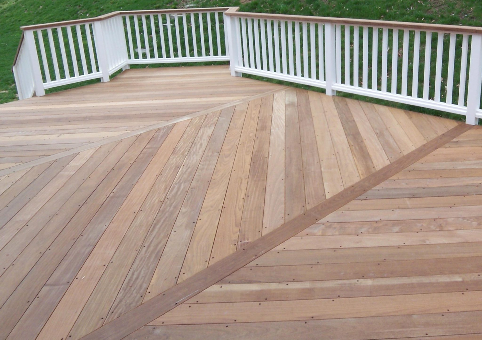 Before And After Wooden Decks Vs Composite Deck Amazing Deck