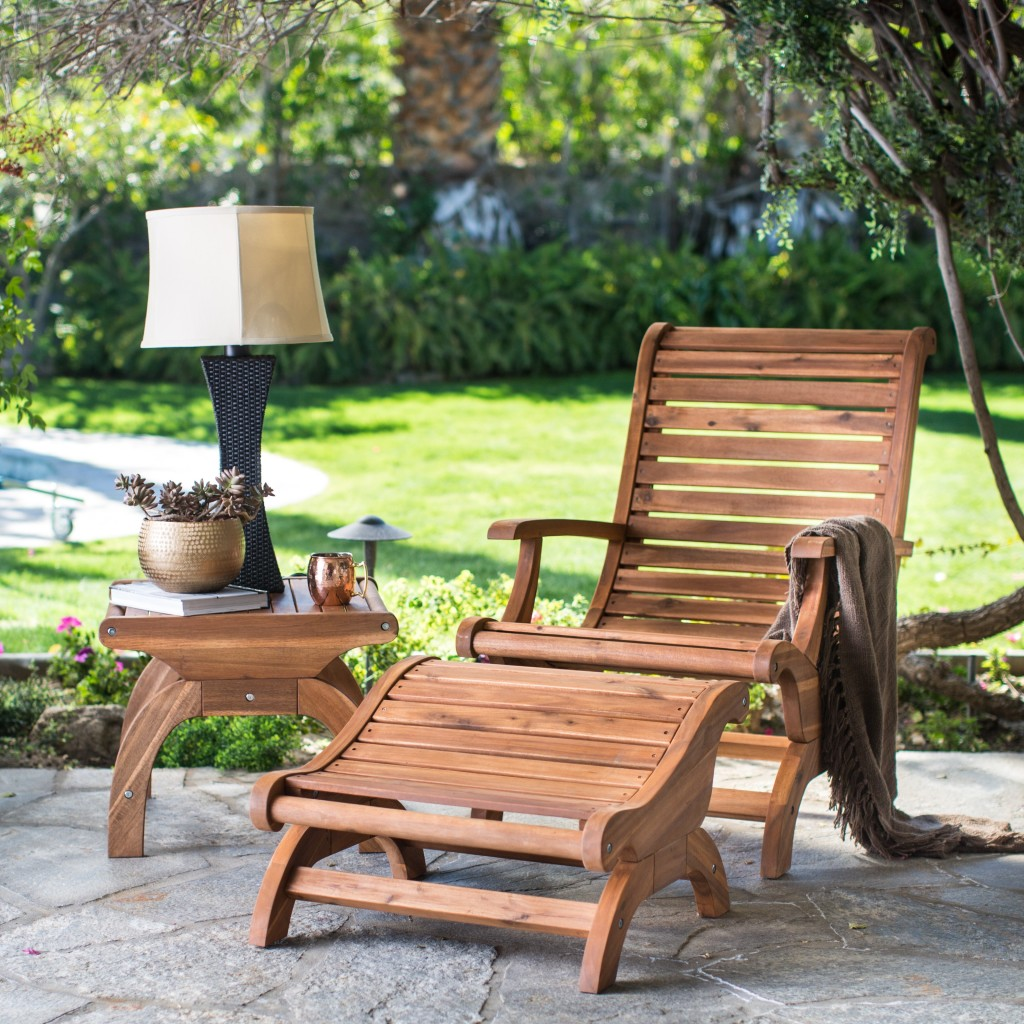 Prime Accent Piece Adirondak Chair And Foot Stool Source Hayneedle Inzonedesignstudio Interior Chair Design Inzonedesignstudiocom