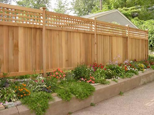 Fencing for Patio or Deck Privacy- Amazing Deck