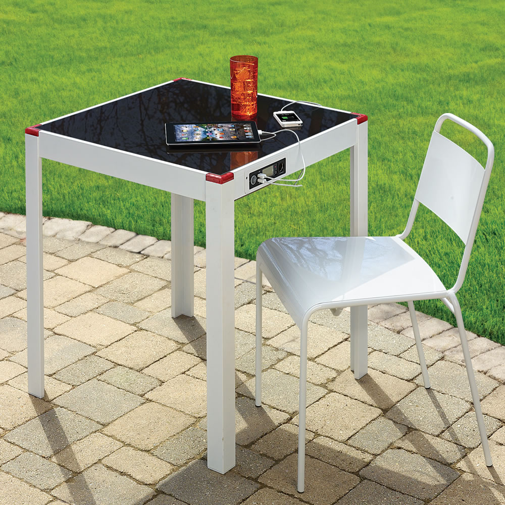 solar panel charging table_source-hammacher.com