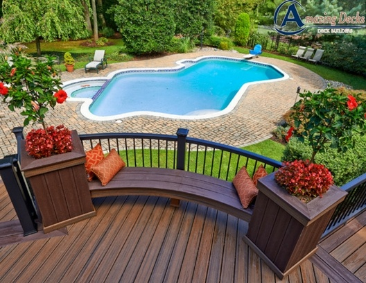How to Prepare your deck for spring- Trex deck builder- Amazing Deck